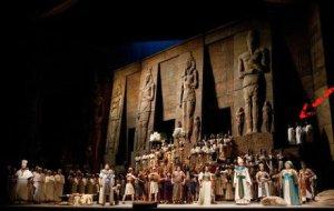 Aida at The Metroplitan Opera 2012