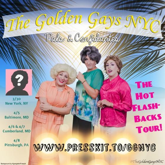 GGNYC Hot Flashbacks Postcard 3